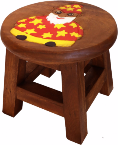 Children S Wooden Step Or Stool Wizard Design County